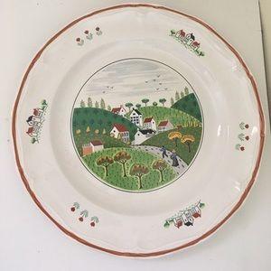 Newcor Stoneware Plate #627